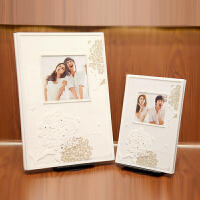 影楼婚纱照相册婚礼定制水晶相册制作写真儿童宝宝全家福相册定制 其它 28以上