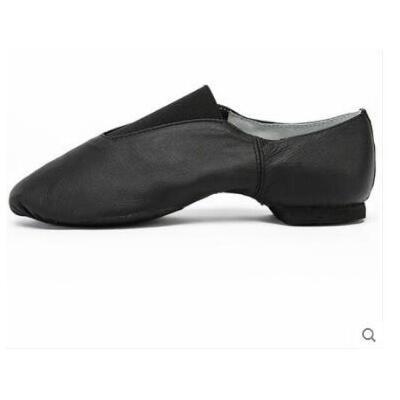 猪皮爵士舞蹈鞋教师鞋带跟跳舞软底练功鞋男女现代舞鞋成人舞蹈鞋支持礼品卡支付 品质保证 售后无忧 支持货到付款