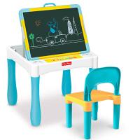 儿童画板双面磁性小黑板支架式家用宝宝画画涂鸦写字板画架学习桌