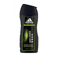 阿迪达斯(adidas) 男士洗发水 控油去屑洗发露 控油劲爽-柠檬精华 400ml(19年3月份前使用)