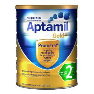 澳洲Aptamil可瑞康爱他美金装婴幼儿奶粉2段(6-12个月宝宝) 900g一罐装