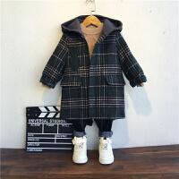 男童外套秋冬装儿童呢子3岁宝宝毛呢大衣中长款