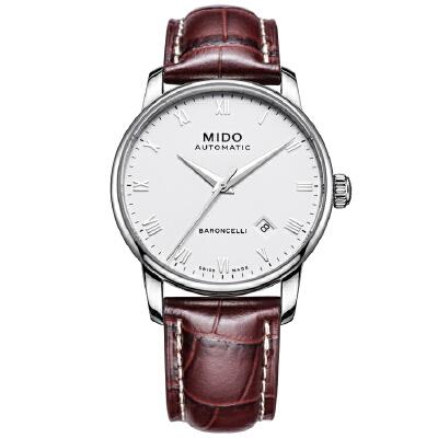 美度MIDO-贝伦赛丽系列 M8600.4.26.8 机械男士手表【好礼万表 礼品卡可购】下单后16:45前支付,1-3个工作日到达