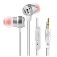 JBL T280A + 钛振膜入耳式通用耳机高保真立体声线控带麦一键接听 流光银