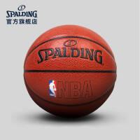 斯伯丁篮球官方正品耐磨室外nba7号水泥地比赛专用非真皮牛皮