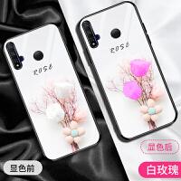 华为nova5i手机壳nova5玻璃nova5pro保护壳女款SEA-GLK-AL00硅胶E