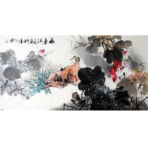 黄胜民(荷气)广西省青年美术家协会会员