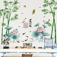 立体墙贴墙纸贴画客厅电视背景墙壁纸自粘墙上装饰卧室温馨中国风