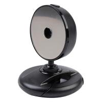 摄像头高清网络电脑视频台式带麦克风家用智能电视免驱摄像头教学上课人像采集直播主播摄像头 黑色