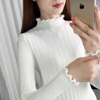 半高领毛衣女秋冬2020新款长袖内搭针织衫修身紧身百搭黑色打底衫