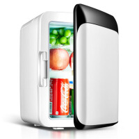 10L车载冰箱迷你小冰箱小型家用制冷车家两用宿舍微型冷藏箱