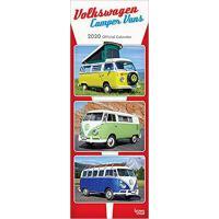 【预订】Volkswagen Camper Vans 2020 Slim Calendar 9781789930436