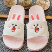 儿童拖鞋女童卡通可爱宝宝拖鞋夏季防滑男童中大童小孩浴室凉拖鞋