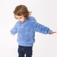 男童套外套秋冬童装保暖宝宝儿童上衣