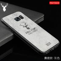 三星S79350手机壳5.5寸s7Edge布纹硬壳sm-G9350个性创意s7e防摔男