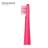 cleaneed 电动牙刷头 成人声波柔软敏感不伤齿 小白刷智能充电式 高伟光同款 蔓越莓*2