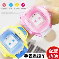 迷你手表遥控车玩具社会人手表抖音遥控小汽车同款儿童遥控车玩具