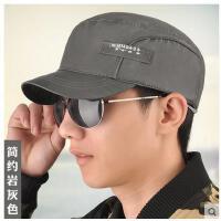 韩版男士帽子平顶帽户外鸭舌帽棒球帽休闲帽太阳帽