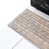 苹果电脑macbook/air/pro笔记本键盘保护膜imac蓝牙实木贴色薄