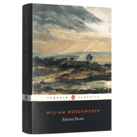 正版现货 华兹华斯诗选 英文原版 Selected Poems of William Wordsworth 我孤独地漫