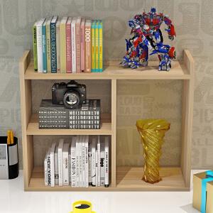 【领券抢购价36.9元包邮】书架 简约现代创意学生桌上简易儿童桌面置物架收纳储物架子办公书柜子家具用品