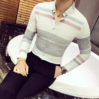 秋冬个性修身长袖衬衫工作服秋季衬衣衬衫韩版长袖男士青年