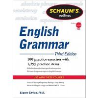 英文原版 英语语法大纲,第三版 Schaum's Outline of English Grammar