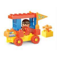 小鲁班积木 婴幼儿 大颗粒积木梦想乐园拼装儿童益智塑料拼插玩具