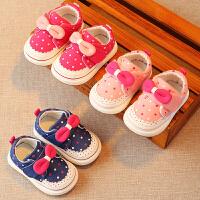 婴儿幼儿布鞋宝宝鞋子软底防滑小童鞋学步鞋1-3岁