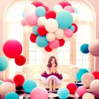 婚庆气球汽球儿童批�l彩色婚礼婚房装饰布置用品