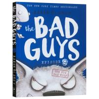 我是大坏蛋9 The Bad Guys Episode 9 The Big Bad Wolf 英文原版 儿童漫画小说故事