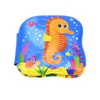 Speedy Seahorse 敏捷的小海马 早教婴儿撕不烂玩具书 0-3岁 儿童柔软英语洗澡书 英文原版进口图书