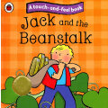 Touch and Feel Fairy Tales: Jack and the Beanstalk 触摸故事书:杰克和豆茎 ISBN 9781409304517