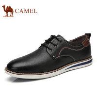 camel骆驼男鞋 新款休闲皮鞋 牛皮男士潮流 品质舒适男鞋