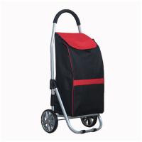 购物车买菜车小拉车折叠拉杆车铝合金便携式手拉车行李拖车