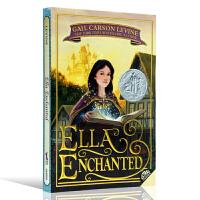 魔法灰姑娘英文原版 Ella Enchanted 纽伯瑞银奖 儿童文学书 同名电影原著小说 安妮海瑟薇主演