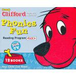 Clifford's Phonics Fun Box Set #5 (w/CD) 大红狗自然拼读法系列套装5(含CD)