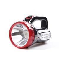 强光手电筒 远程充电式LED探照灯远射手提灯矿灯 户外手电筒