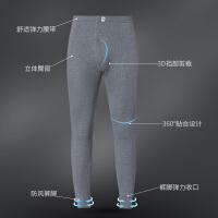南极人秋裤男纯棉衬裤打底裤薄款保暖裤单件装