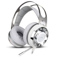 游戏耳机带话筒头戴式台式电脑耳麦震动发光