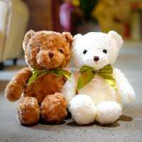 丝巾泰迪熊小熊公仔大抱抱熊毛绒玩具熊熊布娃娃熊包原料生日礼物