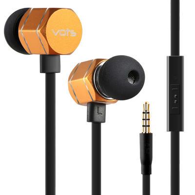 【礼品卡】入耳式耳机手机音乐耳塞金属运动线控电脑 通用金属腔体 带麦克风