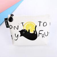 博威新款 可爱卡通水果猫 创意 零钱包 批发