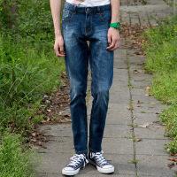 美特斯邦威男牛仔长裤夏新款男士牛仔裤时尚百搭牛仔裤