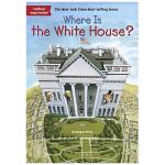 华研原版 白宫在哪里 英文原版 Where Is the White House? 英文儿童桥梁章节书 中小学生读物
