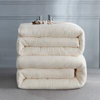 多喜爱新疆棉花子母被四季通用加厚保暖冬被被芯棉胎学生宿舍絮暖