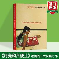 月亮与六便士 英文原版The Moon and Sixpence 毛姆代表作 英文小说 华研原版