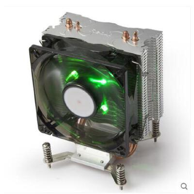 【支持礼品卡】金河田K160双热管CPU散热器铜管塔式英特尔cpu1155 775静音炫光 静音炫光