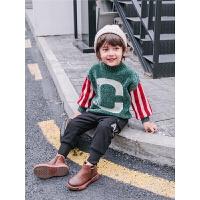 宝宝毛衣儿童保暖针织衫男小童上衣男童