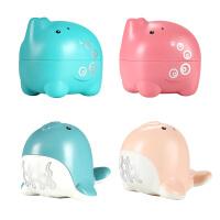 宝宝洗澡玩具婴儿洒水水滴大象戏水玩具海狮吸水沙滩玩具套装